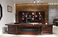 时尚实木老板桌 办公桌 总裁办公桌