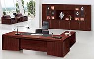实木老板桌椅 总裁办公桌主管桌