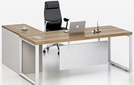 办公桌椅组合老板班台 简约现代板式经理桌 经理办公桌椅