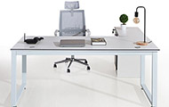 现代简约财务室办公桌 板式办公班台