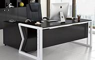 代简约经理办公桌 经理办公桌 办公桌经理桌 钢木办公桌 经理钢木办公桌