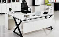 现代简约办公桌 高档板式大班台 WBBT039