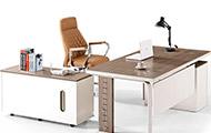 老板办公桌椅 现代老板办公桌椅 现代钢制大班台办公桌椅