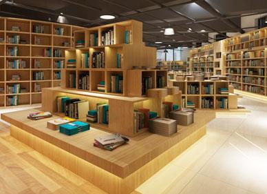 共同图书馆解决方案-品源图书馆家具
