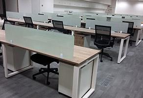 2017年最受欢迎的屏风隔断办公桌款式