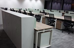 IT员工办公区及休闲区办公家具定制效果图