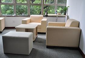 公司接待室家具定制案例
