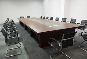 上市公司董事会议会议桌定制案例