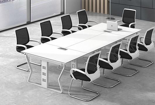 4人商务会议桌 防火板桌面会议桌 WBHYZ015