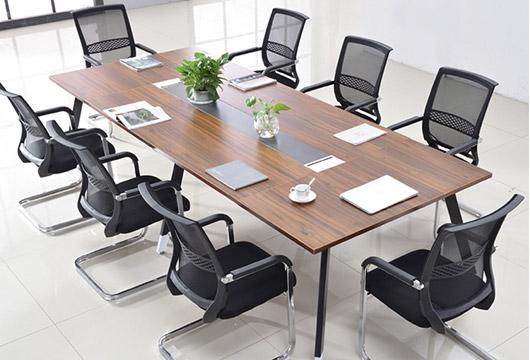 现代时尚办公会议桌 板式会议桌洽谈桌WBHYZ004