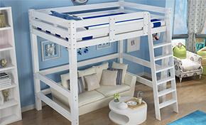 小户型高架床