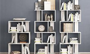 壁挂式书架