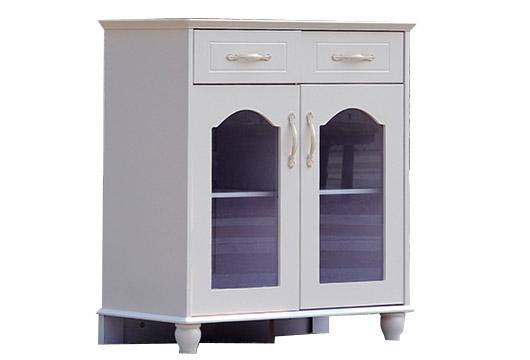 简欧风格茶水柜 玻璃门茶水柜 CT151104