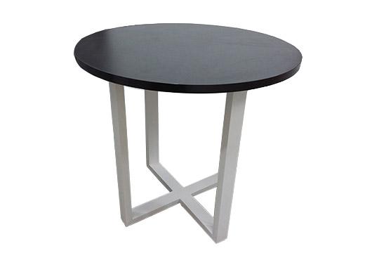 创意办公小茶几 黑色圆形矮几 办公室小茶几 CJ160101