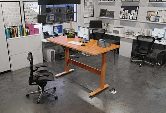 电动升降桌 智能升降办公桌 站立电脑桌  2017新款 ZN2017032001