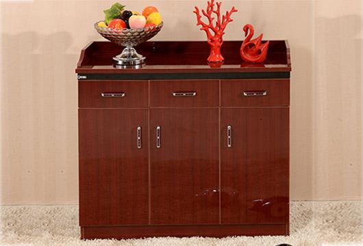 三门茶水柜 带抽屉简易橱柜 餐厅包厢储物柜 CT151102