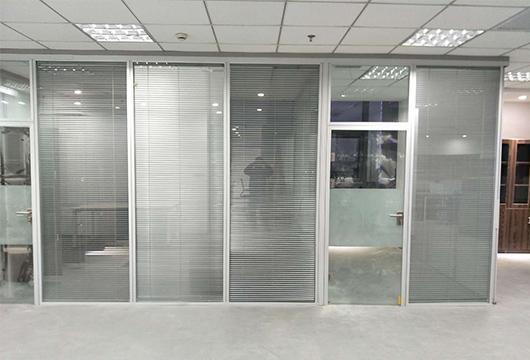 百叶玻璃隔断-玻璃隔断百叶-百叶玻璃隔断墙价格