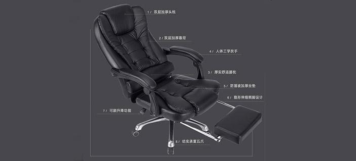 真皮老板椅样式