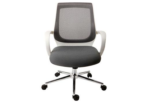 五星转脚办公椅 定型海绵洽谈椅