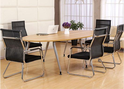 椭圆形洽谈桌 椭圆形会议桌 创意型洽谈桌 圆形特色会议桌 创意型圆形特色会议桌 hyzqt20170721003