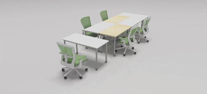 拼接式会议桌