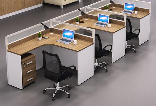 工位办公桌-十字形工位办公桌