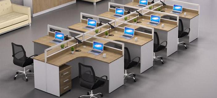 工位办公桌图片