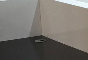 接待台穿线孔设计