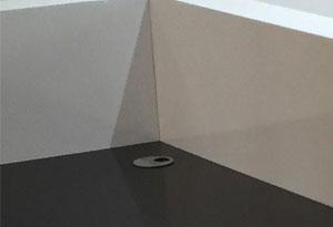 大理石前台接待台走线盒