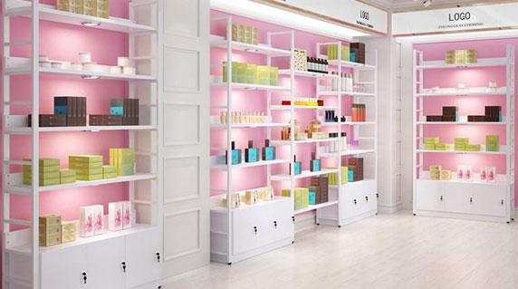化妆品展示柜设计