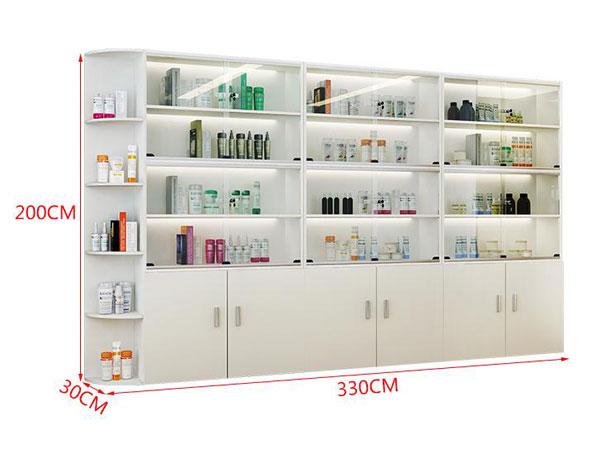 美容产品展示柜尺寸