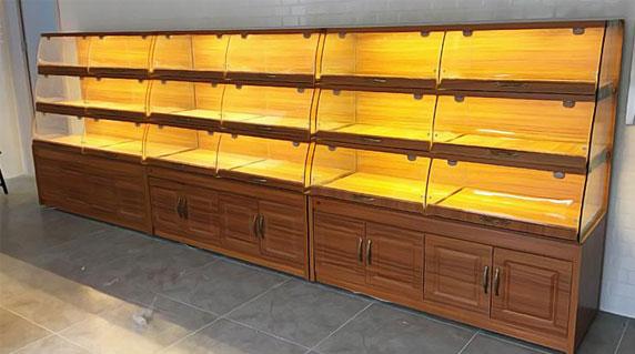 面包店展示柜设计