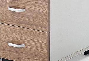 木质办公桌桌脚设计