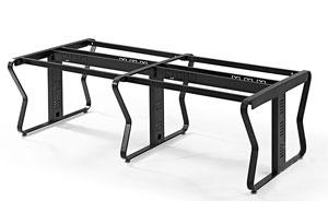 隔断办公桌钢架设计