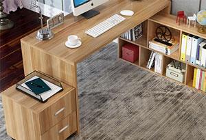 1米2办公桌线条设计