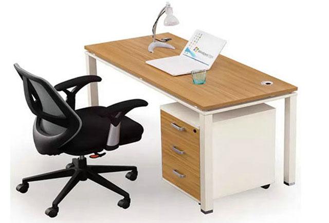 单人办公桌-单人钢架办公桌-单个办公桌