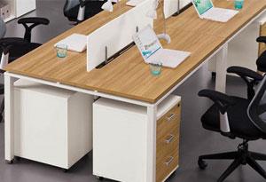 单人办公桌桌脚设计