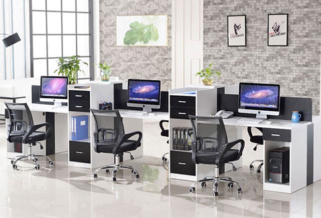 6人位办公桌-6人位办公桌尺寸-定制6人位办公桌