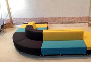 办公异形沙发框架