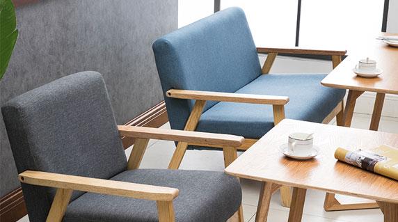 办公沙发桌椅设计
