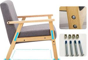 办公沙发桌椅框架