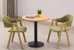 会展洽谈桌椅造型