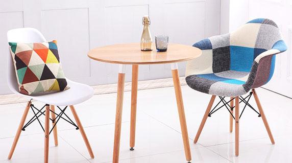 玻璃钢小洽谈桌设计