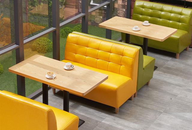 咖啡店沙发卡座