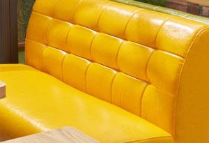 酒吧用沙发卡座工艺