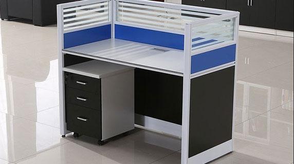 单人屏风办公桌样式