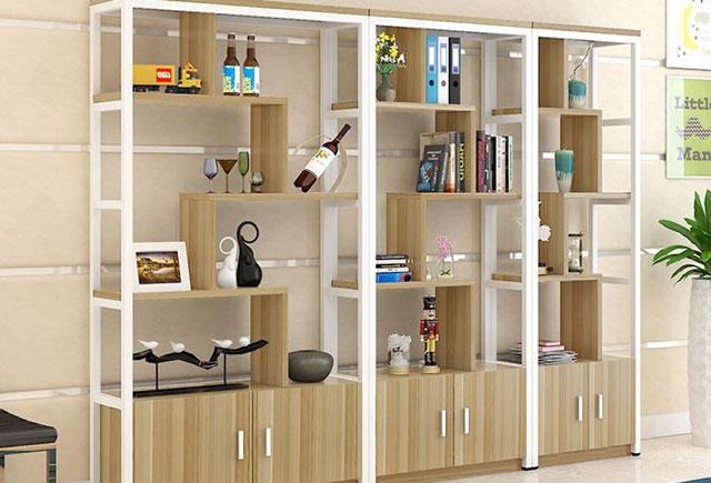 办公室展示柜―办公室产品展示柜―钢木办公室展示柜