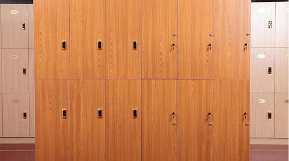 办公木质更衣柜材质