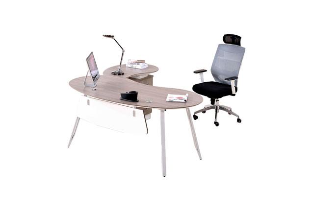 半圆办公桌-半圆形办公桌-半圆办公桌弧形