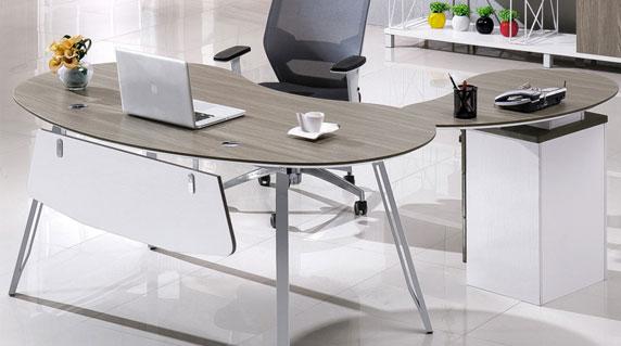 圆弧形办公桌功能